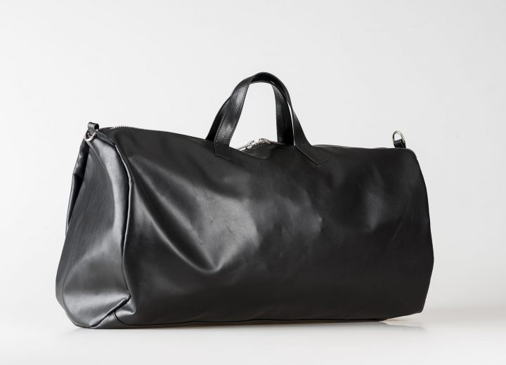 vegetable tanned leather Dufflebag