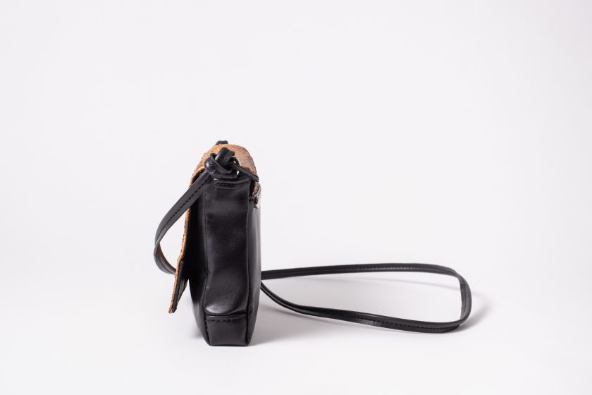 salmon leather Shoulderbag